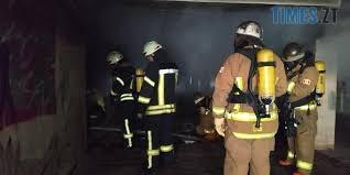 Bez nazvanyia 1 1 - Житомирщина: у підвальному приміщенні багатоповерхівки сталася пожежа