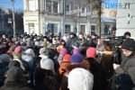 DSC 0322 150x100 - В Житомирі відбувається акція протесту через комунальні тарифи (ВІДЕО)