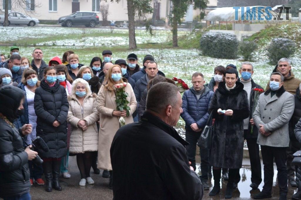 DSC 2176 1024x683 - У Житомирі відкрили меморіальну дошку пам'яті Володимира Башека (ФОТО)