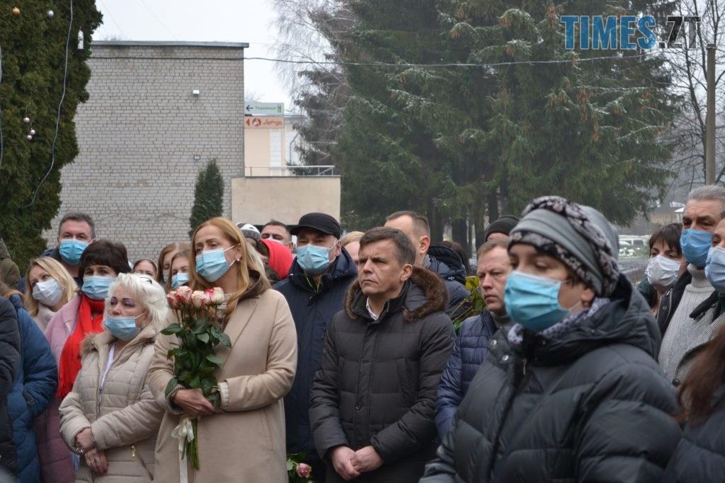 DSC 2185 1024x683 - У Житомирі відкрили меморіальну дошку пам'яті Володимира Башека (ФОТО)