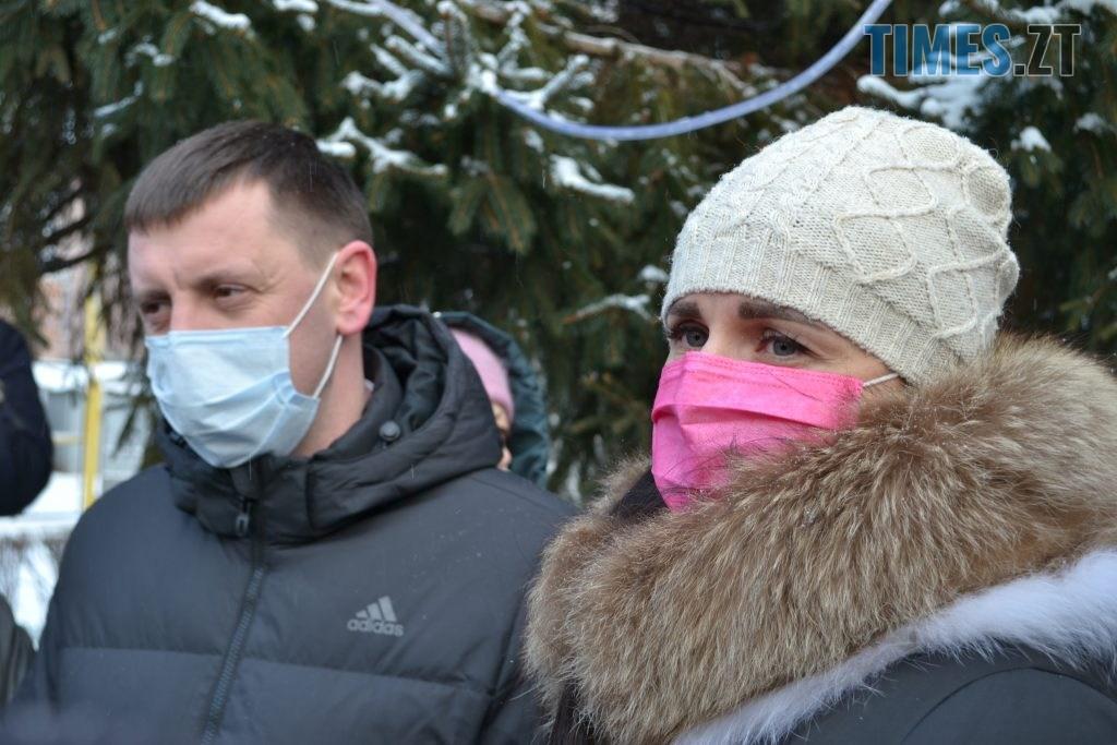 DSC 2386 1024x683 - Зламаний турнікет, погрози, сніжки та плани на майдан: як житомиряни втретє протестували через тарифи