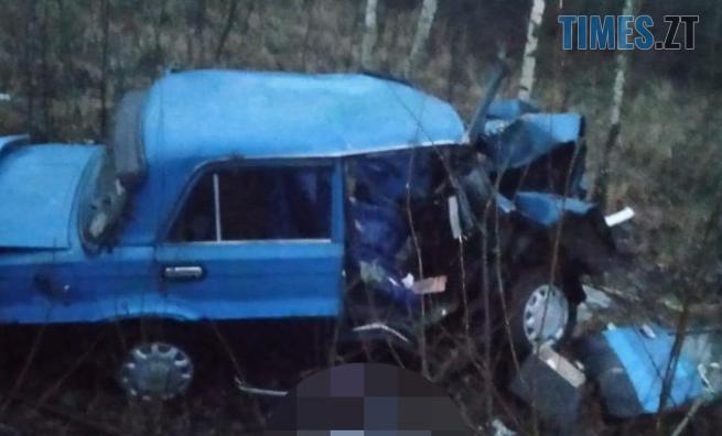 Screenshot 2 - На Малинщині легковик вилетів до кювету: двоє людей травмовано, один з них - смертельно (ФОТО)